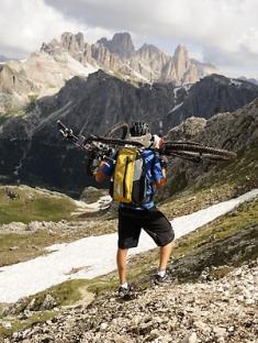 Alpencross Via Migra Forcella Averau Transalp
