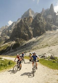 Alpencross Via Migra Val Venegia Dolomiten Transalp
